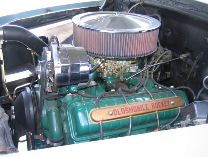 oldsmobile v8 engine
